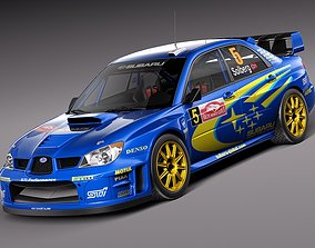 3D model jdm Subaru Impreza STi WRC 2006