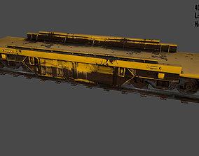 Train 3D asset low-poly