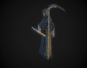 Death 3D model rigged