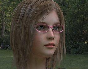 Jessica 21 yrs girl 3D model