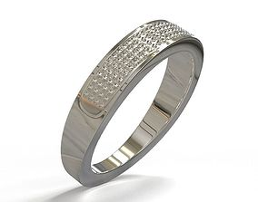 Ring-silver 3D