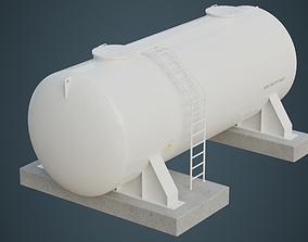 3D model Industrial Gas Tank 4A