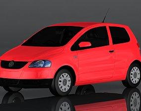 Volkswagen Fox 3D model