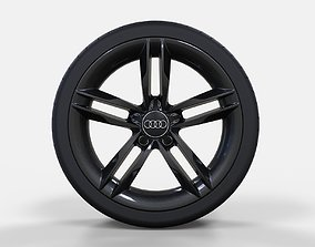 3D aluminium Audi rim