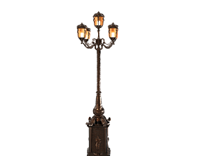 Street light Petersburg 3D model