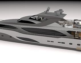 sea 3D Yacht 32meter