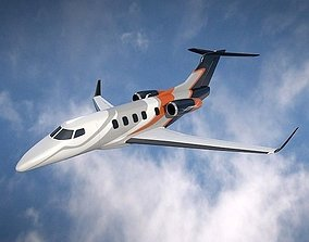 Embraer Phenom 300 business jet 3D model