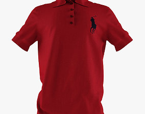 Ralph Lauren - shirt 3D model
