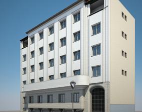 3D model Apartment Building 12