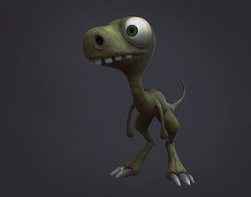 3D model Stylized Dino