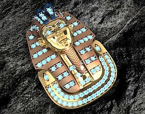 Ancient Egyptian Pharaoh 3 3D print model