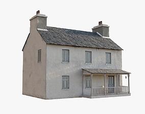 Irish house 3D asset