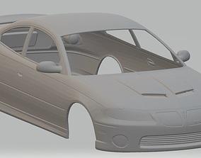 GTO Coupe 2006 Printable Body Car