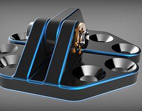 3D printable model Door hinge