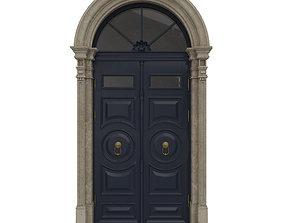 Entrance classic door 20 3D