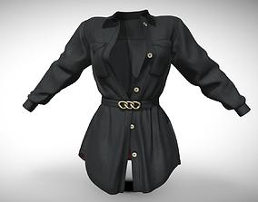 Female Clothes 08 3D asset