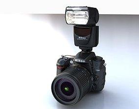 Nikon D7000 plus SB700 3D photography