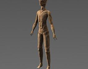 Scary Alien Character 3D model