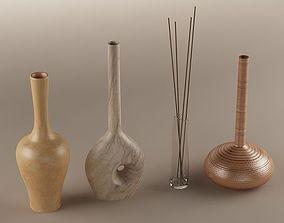 3D Decorative vase 01