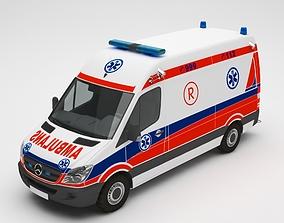 emergency 3D Ambulance