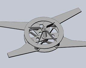 Efficient Ornithopter Wingflap Drive 3D print model 1