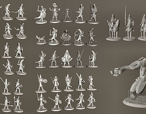 3D printable model 28mm Banana Knight Army - 61 Unique 2