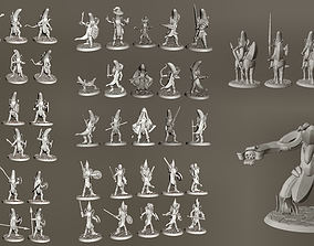 28mm Banana Knight Army - 61 Unique 3D printable model 2