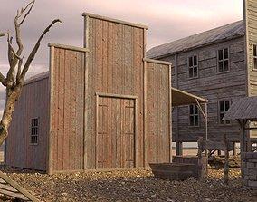 3D asset WILD WEST BUILDING