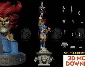 Thundercats Lion-O STL for 3D printing Fanart Term 24 3D