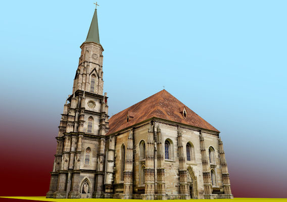 gothic church  IN ROMANIA 04