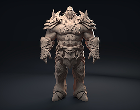 3D model Scullhead Warrior warrior