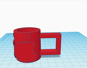 Apple Inc Logo Cup 3D printable model
