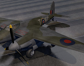 DeHavilland Mosquito Mk-6 3D model