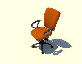 Desktop chair 3D asset