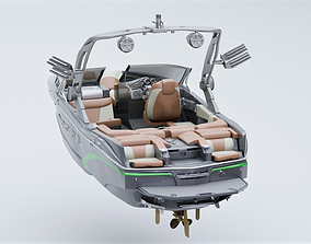 3D MasterCraft X20 Wakeboard Boat