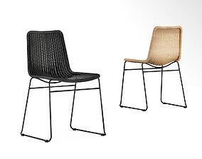 feelgood 3D model Mark Tuckey wicker chair c607