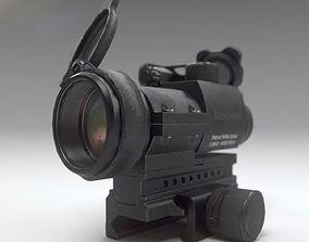3D model Aimpoint PRO Patrol Rifle Optic