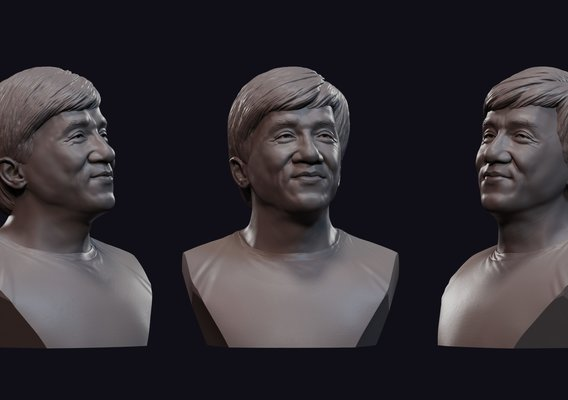 Jackie Chan bust number 1