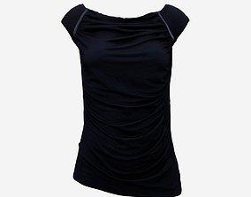 Black Sexy Top 3D