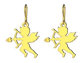 3D print model Cupid earrings