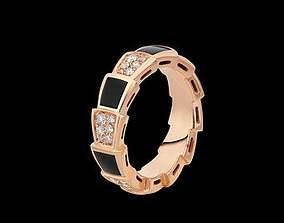 3D printable model bulgari ring
