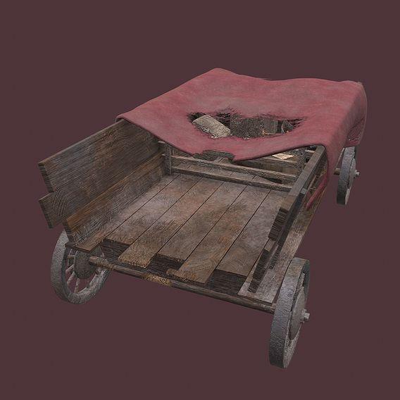 Medieval Wagon