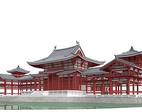 Byodo-in Temple in Kyoto 3D model hotel