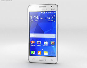 Samsung Galaxy Core II White 3D