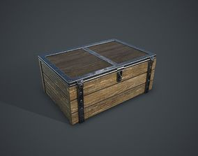 3D model low-poly strategy Chest