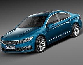 3D Generic Luxury Sedan 2016