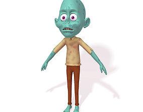 man Zombie 3D