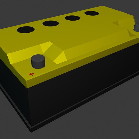 Car battery - akumulator