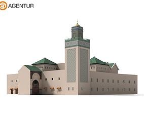 Bou Inania Medersa Marokko 3D model
