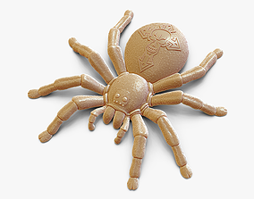Stylized Spider 3D printable model